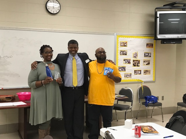 Lunch and Learn Parent Workshop held at Wenonah High School
