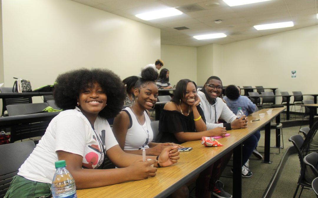 GEAR UP Birmingham Students Experience Hybrid-Course Instruction through UAB Collat School of Business's Business Academy Camp