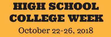 College Week Activities- October 22-26, 2018