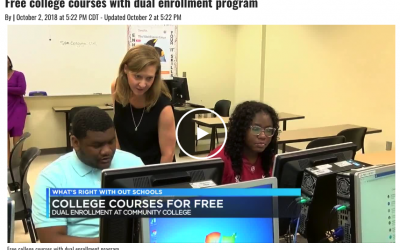 Lawson Dual Enrollment segment with Wenonah