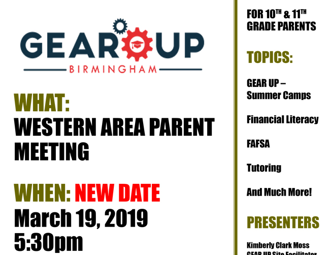 Western Area Parent Meeting